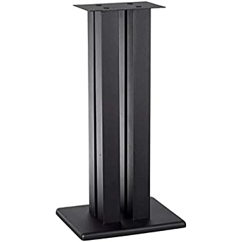 "Black 2 SANUS BF31-B1 31/"" Speaker Stands for Bookshelf Speakers up to 20 lbs"