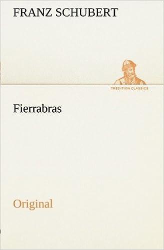 Book Fierrabras: Original