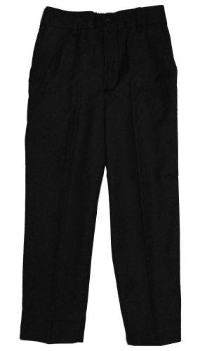 Armani Martillo Boys Flat Front Elastic Waist Dress Pants