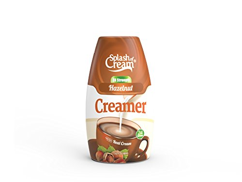 Splash of Cream Hazelnut Real Dairy Concentrated Creamer | 12 Pack - 1.62oz Squeeze Bottle - 24 Servings per Bottle by Splash of Cream