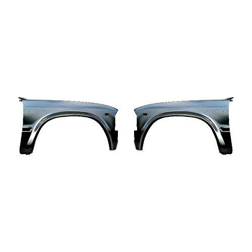 Fender Compatible with 1980 Toyota Pickup Set of 2 Steel Primed Front Left and Right Side