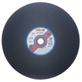 CGW Abrasives 37671 Cut-Off Wheel 14'' x 1'' 24 Grit Type 1 Silicon Carbide - Pkg Qty 10, (Sold in packages of 10)