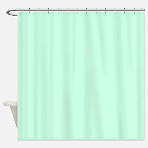 Heavy Duty Magnetized Shower Curtain Liner Mildew Resistant Mint Green