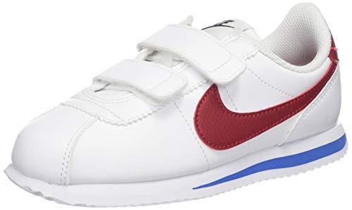 NIKE Cortez Basic SL (PSV) Baby-Boys Fashion-Sneakers 904767-103_3Y - White/Varsity RED-Varsity Royal-Black (Nike Boys Infant Shoes)