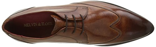 Lt Ls Herren MELVIN MADE HAND CLASS SHOES Beige Forum Toni HAMILTON MH tan amp; Derby 2 OF wwqa6pF