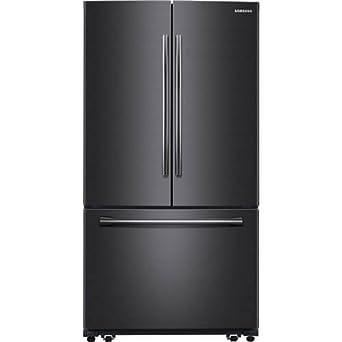 Samsung Appliance RF260BEAESG 36u0026quot; Black Stainless Steel Series French  Door Refrigerator In Black Stainless Steel