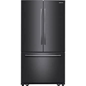 "Samsung Appliance RF260BEAESG 36"" Black Stainless Steel Series French Door Refrigerator in Black Stainless Steel"