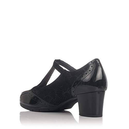 Women's Court Black 5270 PITILLOS Shoes aYOwv