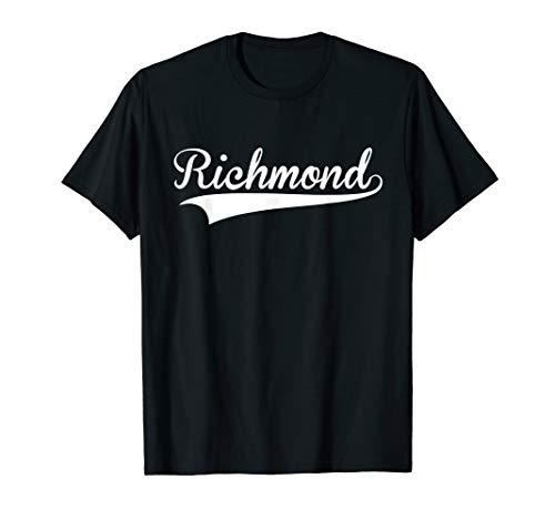 (RICHMOND Baseball Styled Jersey Tee Shirt Softball)