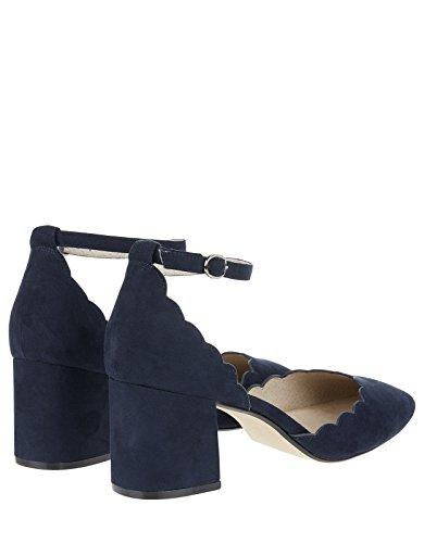 Monsoon Sasha zweiteilige Courtschuhe mit quadratischer Zehenpartie - Schuhe 40