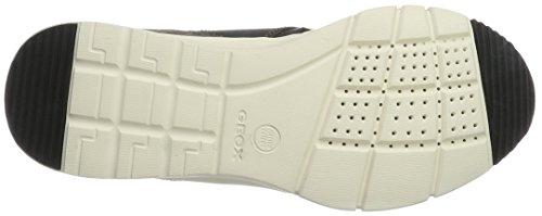 Geox U Snapish C, Zapatillas para Hombre Gris (GREYC1006)