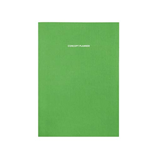 Poketo Concept Planner Notebook, Key Lime