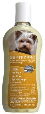 Sentry Pro Toy & Small Breed Flea & Tick Dog Shampoo, 12 fl. Oz.