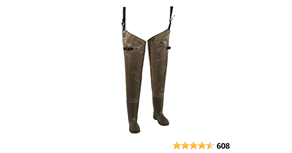 NEW Allen waterproof Fly Fishing Wading Pants Boots Size 8