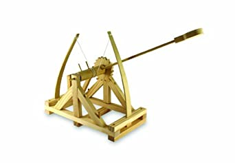 Da Vinci Catapult Kit, Wood