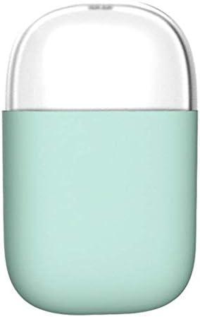 SBSNH クリエイティブつまようじボックス、取り外し可能なカバー、プラスチック製ポータブルつまようじストレージとのつまようじホルダー (Color : Lake Blue)