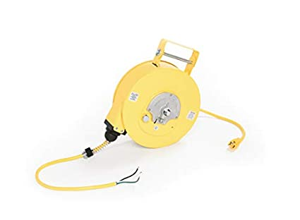 Amazon Com Woodhead 945 3 Cord Reel Nema 1 Extension Cord