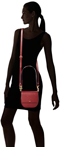 a Donna Rosso Colorblocking spalla Shoulderbag Red 302 Rhea Dark Borsa Grano Shf JOOP w48BfxY4