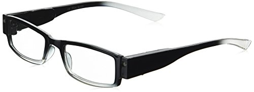 EVIDECO LED Reading Glasses with Light, LG Black Optic By Finess Power +1.5 -  43235-97175