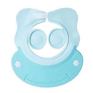1pcs Baby Infant Waterproof TPE Shower Shampoo Cap Wash Hair Kids Bath Visor Hats Adjustable Shield Ear Eye Protection