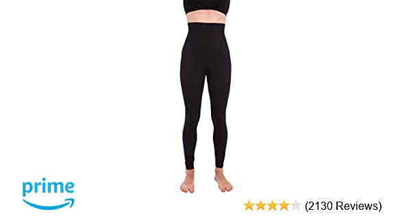 d72afc48333 Amazon.com  Homma Premium Thick High Waist Tummy Compression Slimming  Leggings  Clothing