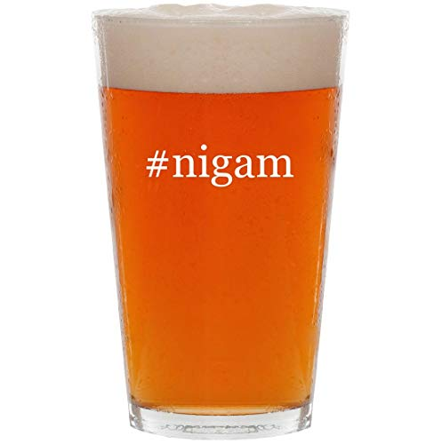 #nigam - 16oz Hashtag All Purpose Pint Beer Glass
