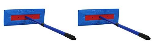 SNOBRUM - The Original Snow Remover Brush/Tool for Vehicles - Push-Broom Design, 28