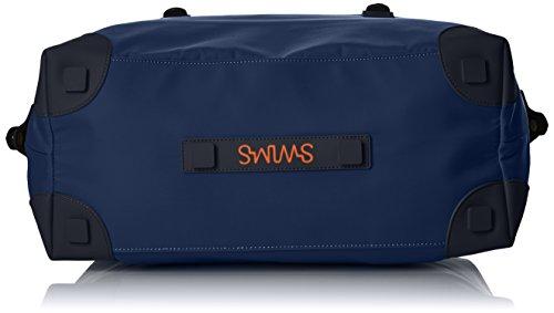 SWIMS 24h Holdalls - Borse a spalla Unisex �?Adulto, Blau (Navy), 19x33x42 cm (L x H D)