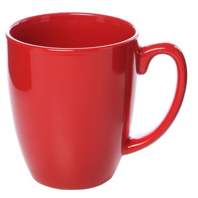 Livingware 11 oz. Mug [Set of 6] Color: Red (Corelle Cups Mugs compare prices)