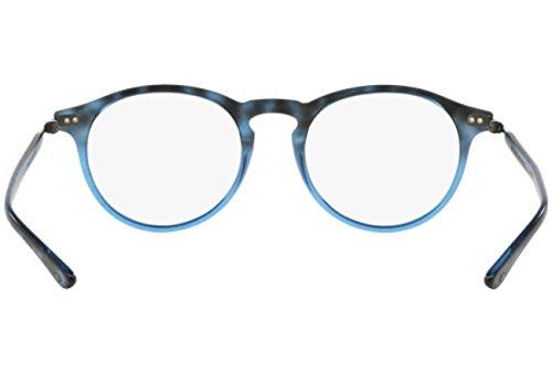 Giorgio Armani Montures de lunettes 7040 Pour Homme Black, 46mm 5313: Gradient Tortoise / Blue