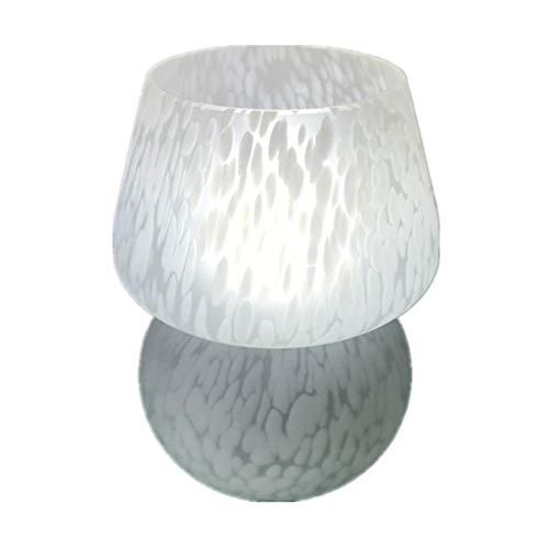 Tiffany Style Creative Mushroom Small Night Light Stained Glass 6 inch Mottled Cartoon Living Room Lamp Bedroom Lighting