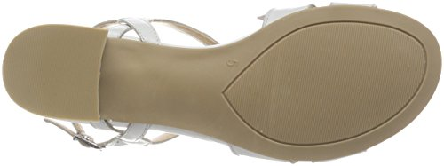Gril Vrouwen 28201 Slingback Sandalen Wit (wit Perlato 139)