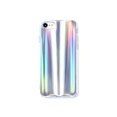 Wingcases Phone Case for iPhone 7/8 Case, Iridescent Holographic Fashion Glitter Soft TPU Phone Fashion Chic Girl Case Cover for iPhone 8/7 (iPhone 7/8)