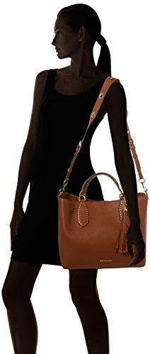 Michael Kors Brooklyn Large - Bolsos totes Mujer Marrón (Luggage)