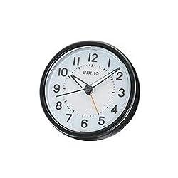 Seiko QHE087KLH Classic Bedside Alarm Clock