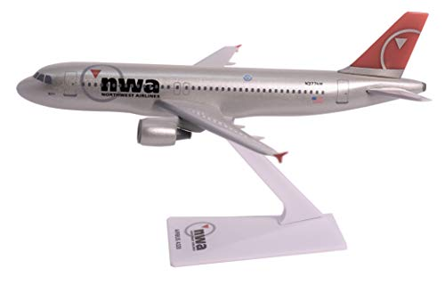 Northwest (03-09) Airbus A320-200 Airplane Miniature Model Plastic Snap Fit 1:200 Part# AAB-32020H-055