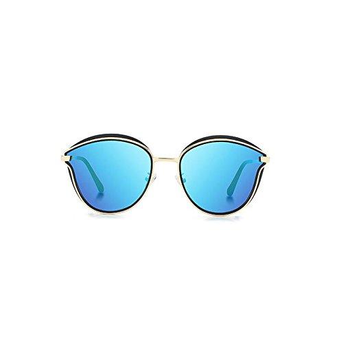 Sunglasses Cadre Ice Soleil Black polarisé Blue Lunettes Film Lunettes Femmes polarisées Ice Miroir Soleil de de Box Box Générique Couleur Black Noir Noir Cadre Conduite Couleur Cendre Blue Mode dWgxTCqw1d
