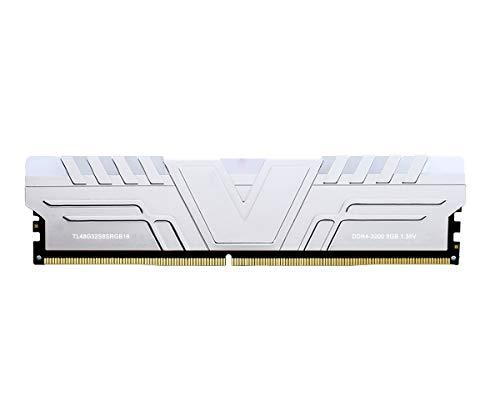 V-Color Prism RGB 8GB (1 x 8GB) DDR4 3200MHz (PC4-25600) CL16 1 35V Desktop  Memory -Silver (TL48G32S8SRGB16)