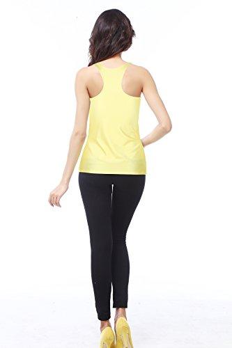 Belsen - Camiseta sin mangas - para mujer Banana eyes