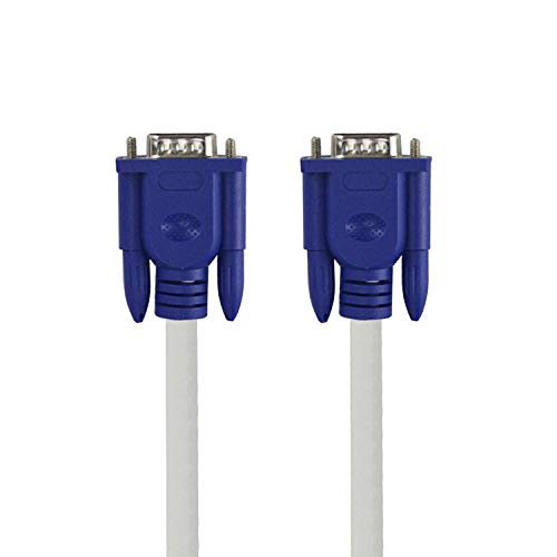 3+4 Vga Cable 1.5M Monitor Male to Male Extension Video Cable Connector for Pc Laptop Tv Box Projector Vga Line