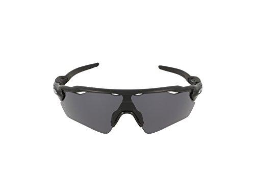 de del Sol talla Radar fabricante Negro Black EV Gafas Grey Path Oakley 38 Hombre Polished AxI7Xq7