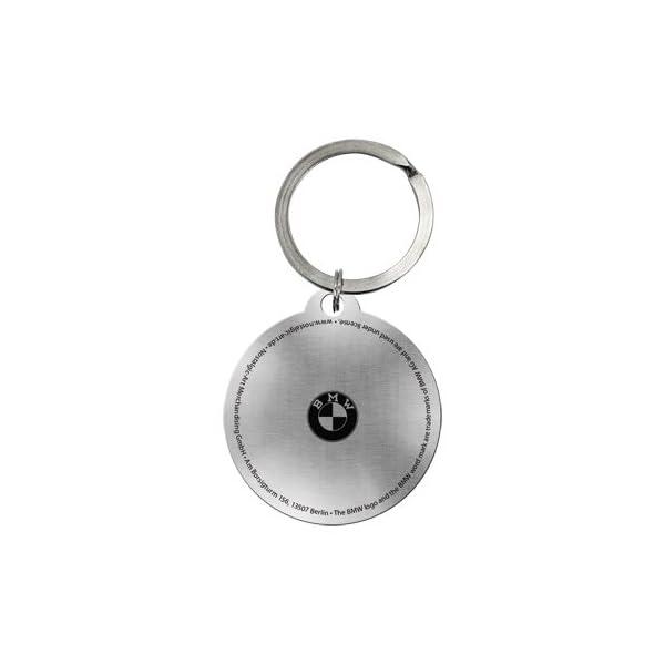 Porte-clés rond en forme de compteur de vitesse BMW 4 cm