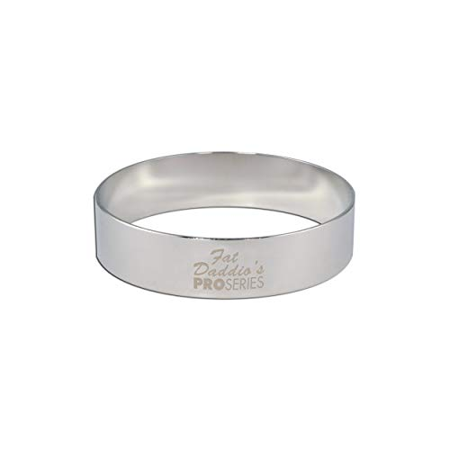 Fat Daddio's Stainless Steel Round Cake and Pastry Ring, 4.75 Inchx.75 Inch by Fat Daddios