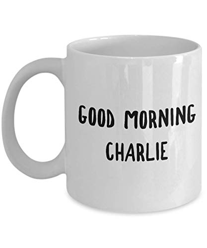 Comedy Film Coffee Mug - Good Morning Charlie - Quotes American TV Series Comedy Action Lovers Fan Mother Father Brother Sister Son ()