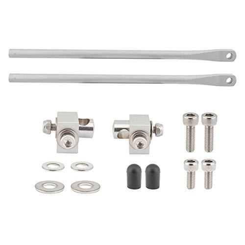 Tubus Bike Rack rr mounting Set 190mm w/Clamps & hdwr sl