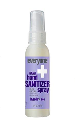 Everyone Hand Sanitizer Spray, Lavender & Aloe, 6 Count