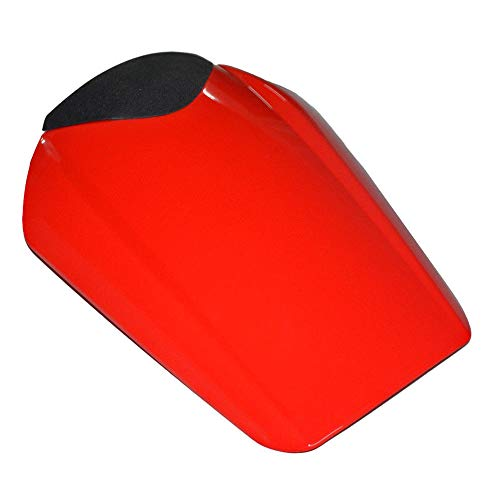 (Motorcycle Parts Rear Passenger Pillion Seat Cover Cowl Pad Hard ABS Motorbikes Fairing Tail Cover For Honda CBR 1000 RR 2008 2009 2010 2011 2012 2013 2014 CBR1000RR CBR 1000RR (Red) )