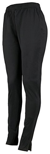Augusta Sportswear Women's Tapered Leg Pant, Black, X-Large