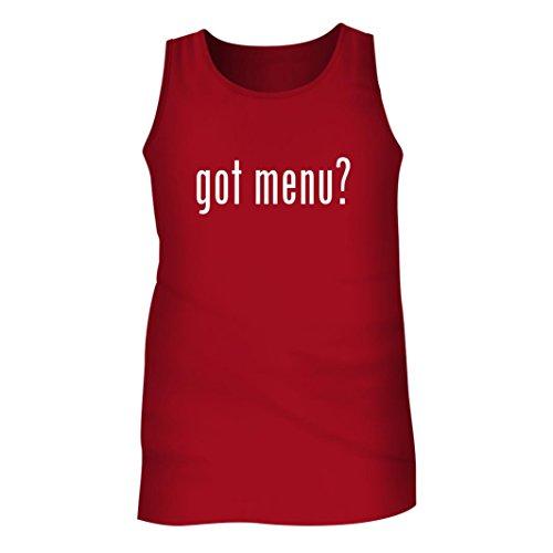Tracy Gifts Got Menu? - Men's Adult Tank Top, Red, - Hut Menu Red