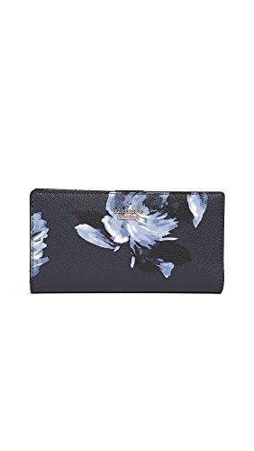 Kate Spade New York Women's Cameron Street Stacy Wallet, Rich Navy Multi, One Size